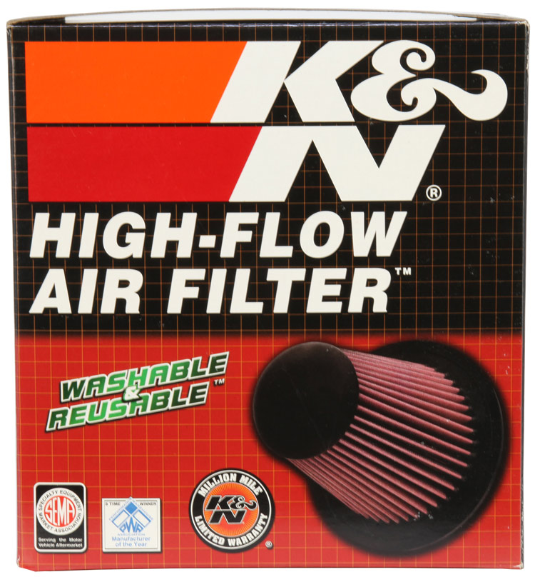 K&N Round Tapered Universal Clamp-On Air Filter - K&N RC-8450