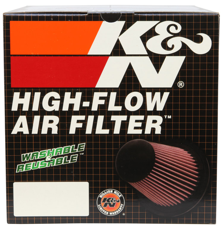 K&N Round Tapered Universal Clamp-On Air Filter - K&N RC-5107