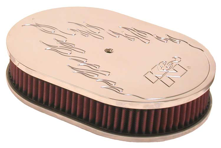 K&N Oval Oval Air Filter Assembly - K&N 66-1530