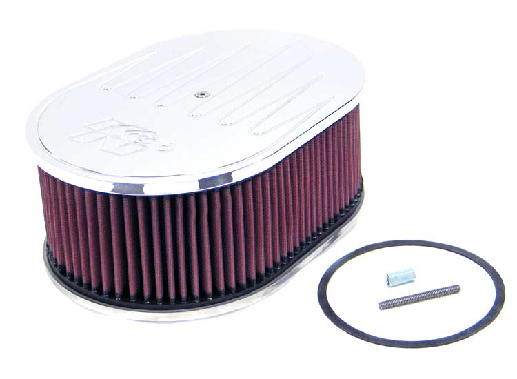 K&N Oval Oval Air Filter Assembly - K&N 66-1540