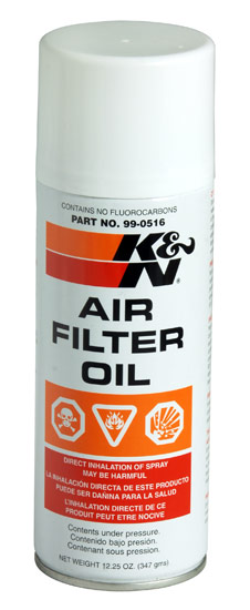K&N 12.25oz Aerosol Spray Air Filter Oil - K&N 99-0516