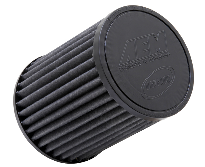 AEM Tapered Conical DryFlow Air Filter - AEM 21-2147BF
