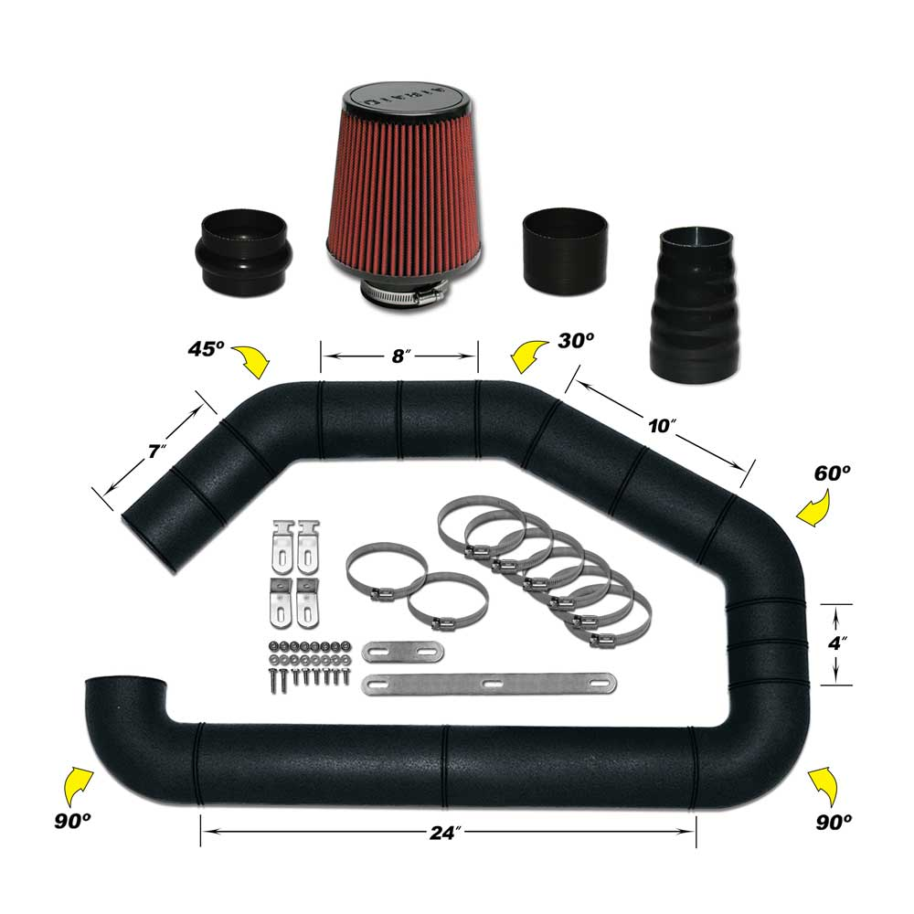 Airaid U-Build-It Universal Intake Kit - Airaid 101-302