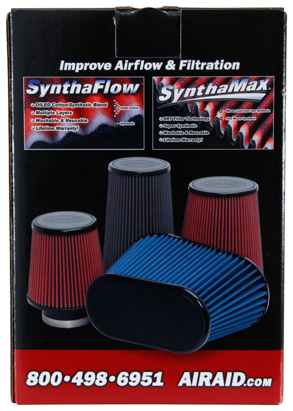Airaid Round Tapered Universal Air Filter - Airaid 701-493