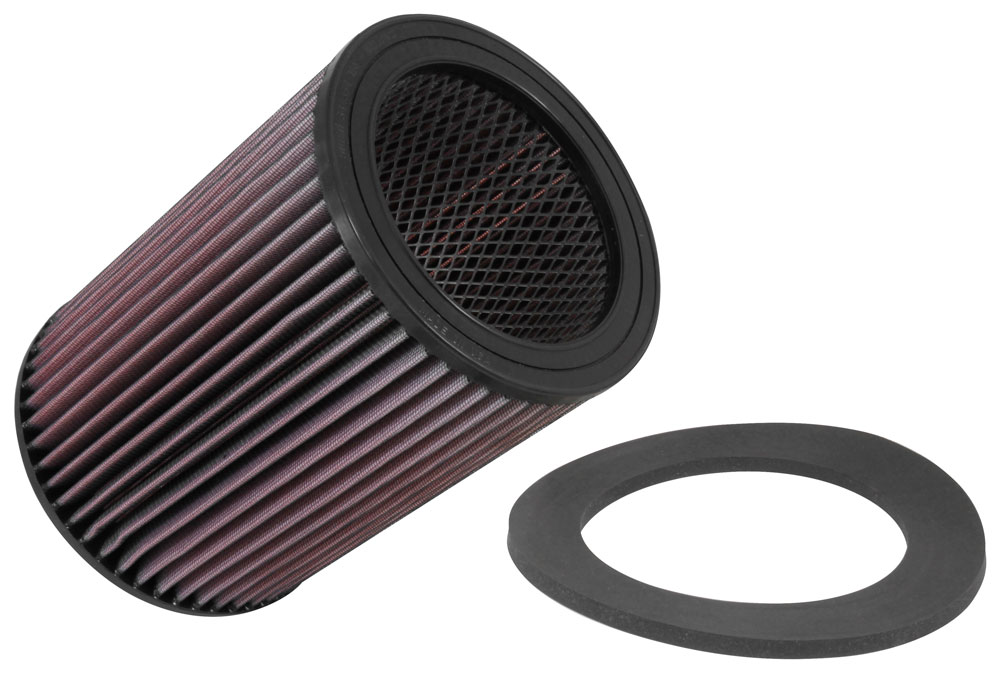 K&N Replacement Round Air Filter - K&N E-2017