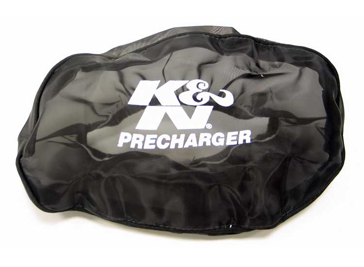 K&N Black Oval Straight Precharger Air Filter Wrap - K&N E-3321PK