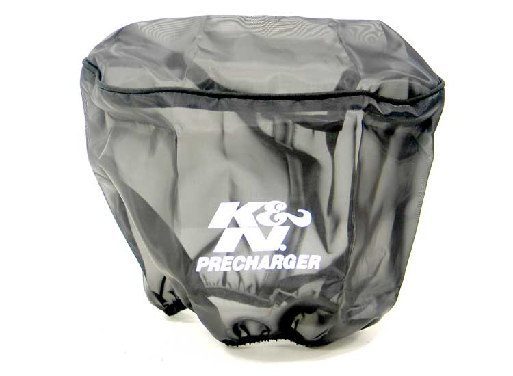 K&N Black Oval Straight Precharger Air Filter Wrap - K&N E-3491PK