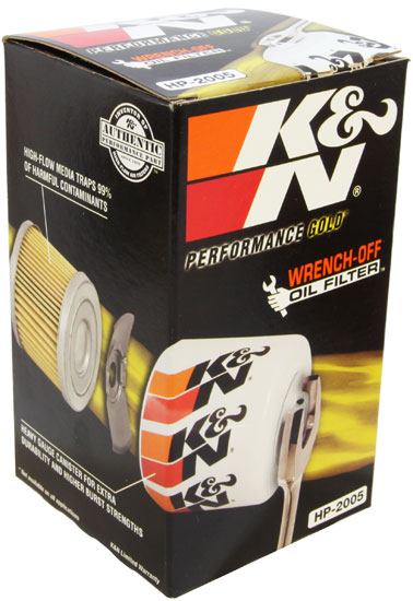 K&N Wrench-Off Oil Filter - K&N HP-2005