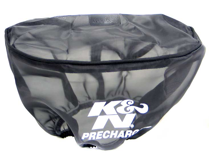 K&N Black Oval Straight Precharger Air Filter Wrap - K&N KA-7504PK
