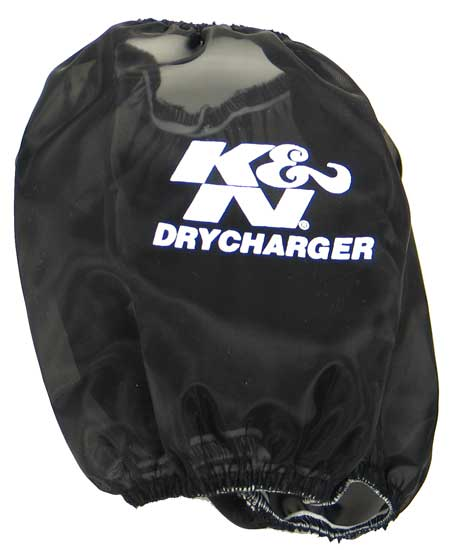 K&N Black Oval Tapered Drycharger Air Filter Wrap - K&N RC-5040DK