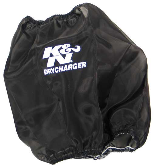 K&N Black Oval Tapered Drycharger Air Filter Wrap - K&N RC-5102DK