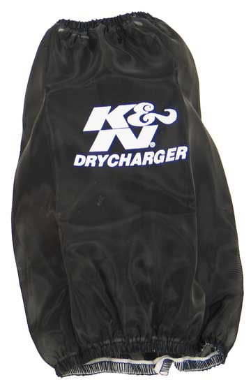 K&N Black Round Tapered Drycharger Air Filter Wrap - K&N RC-5106DK