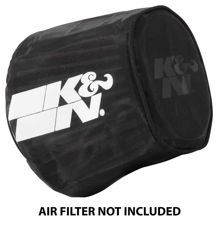 K&N Black Oval Tapered Drycharger Air Filter Wrap - K&N RE-0961DK