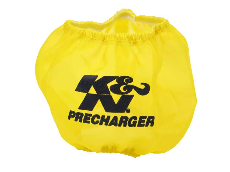 K&N Yellow Round Straight Precharger Air Filter Wrap - K&N SU-4250PY