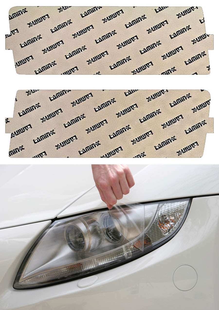 Lamin-X Ellipsoid Style Headlight Covers - Lamin-X B001E-1