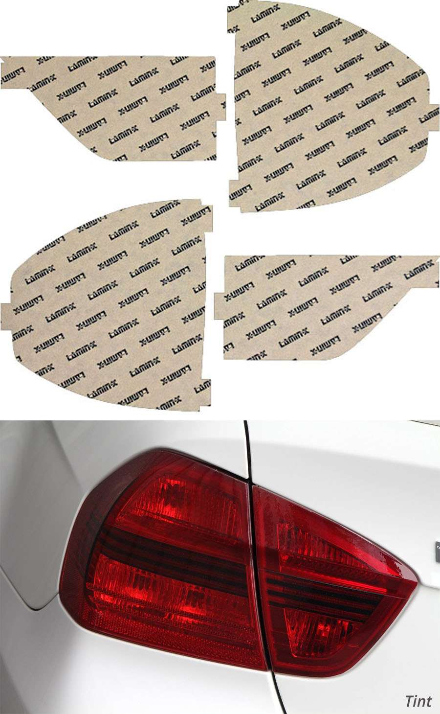 Lamin-X Tail Light Covers - Lamin-X B215