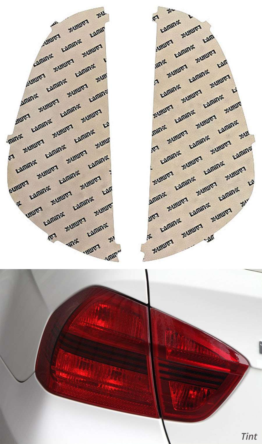 Lamin-X Tail Light Covers - Lamin-X K225