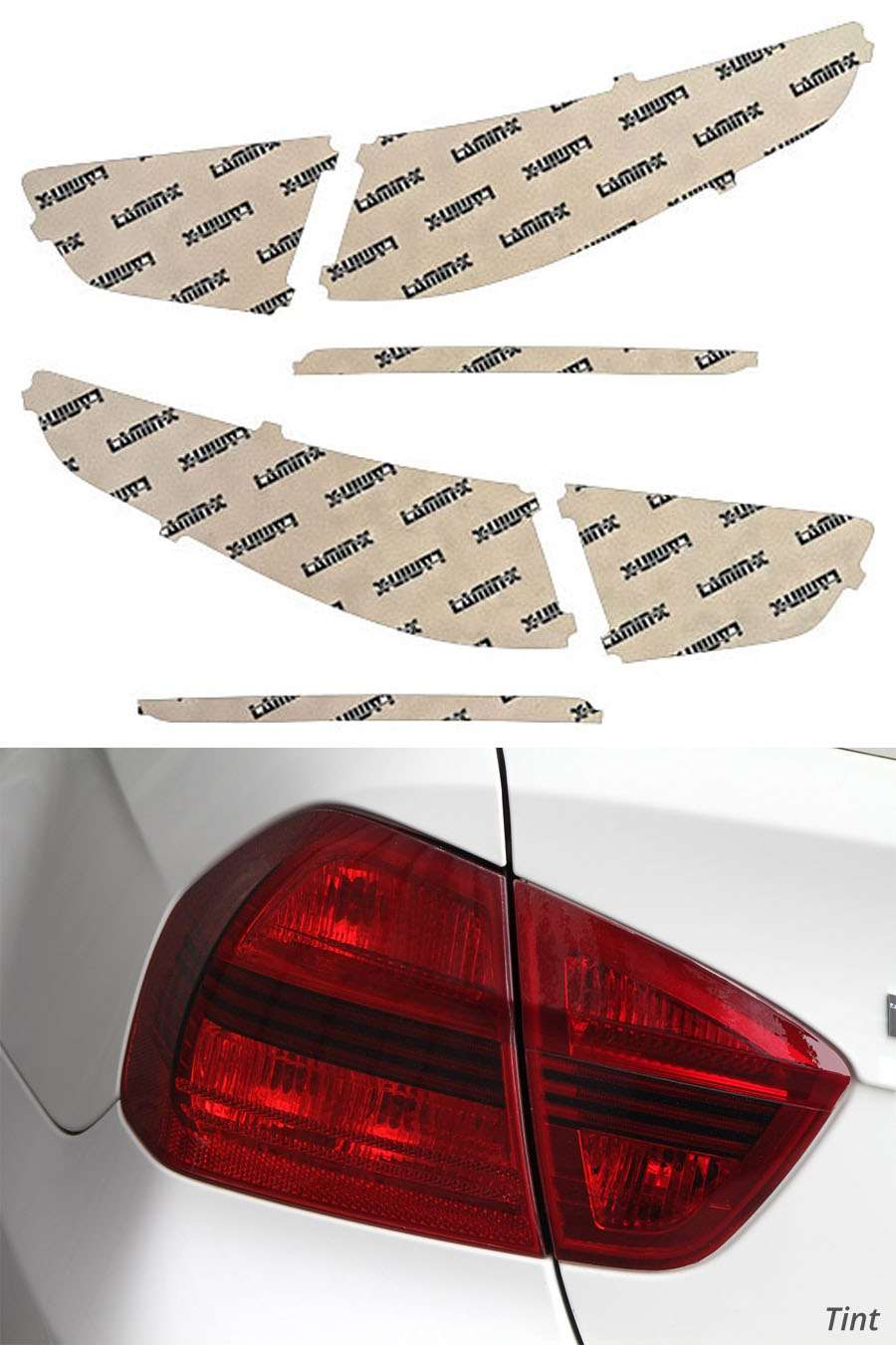 Lamin-X Tail Light Covers - Lamin-X K227