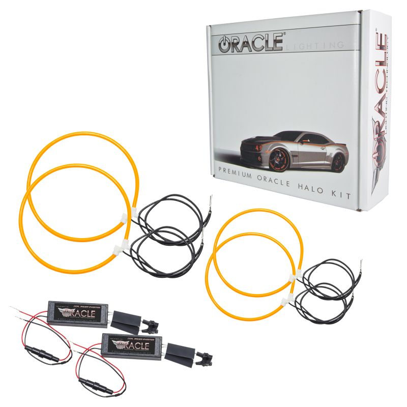 Oracle Lighting CCFL Amber Halo Kit for Headlights - Oracle Lighting 2965-035