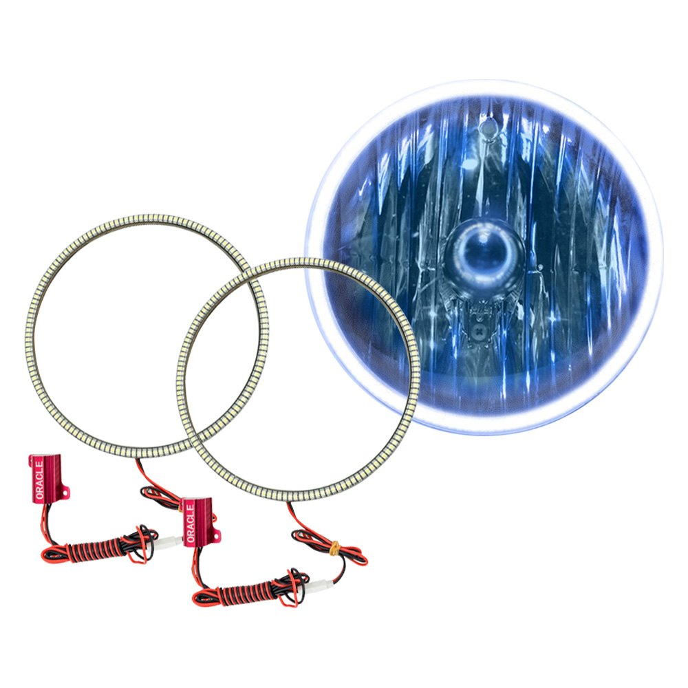 Oracle Lighting SMD Red Waterproof Halo Kit for Headlights - Oracle Lighting 3948-003