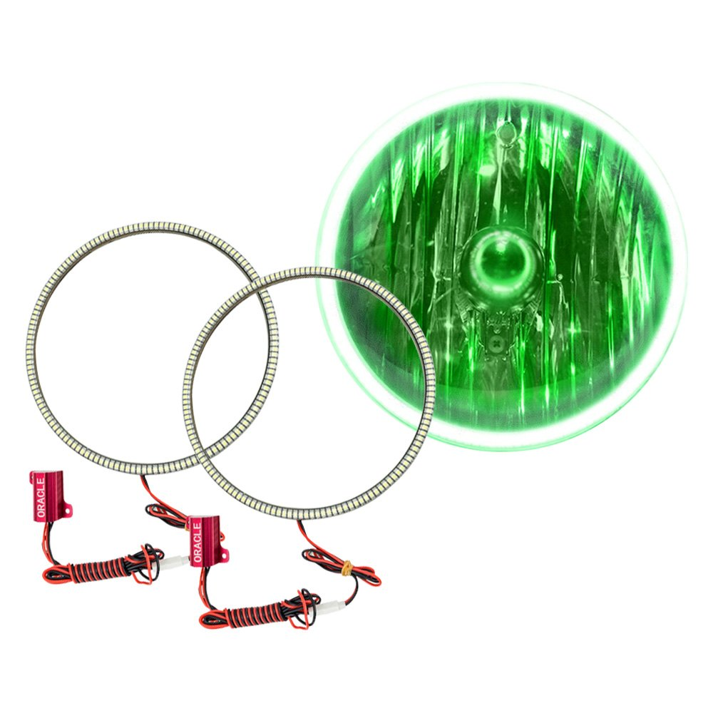Oracle Lighting SMD Green Waterproof Halo Kit for Headlights - Oracle Lighting 3948-004