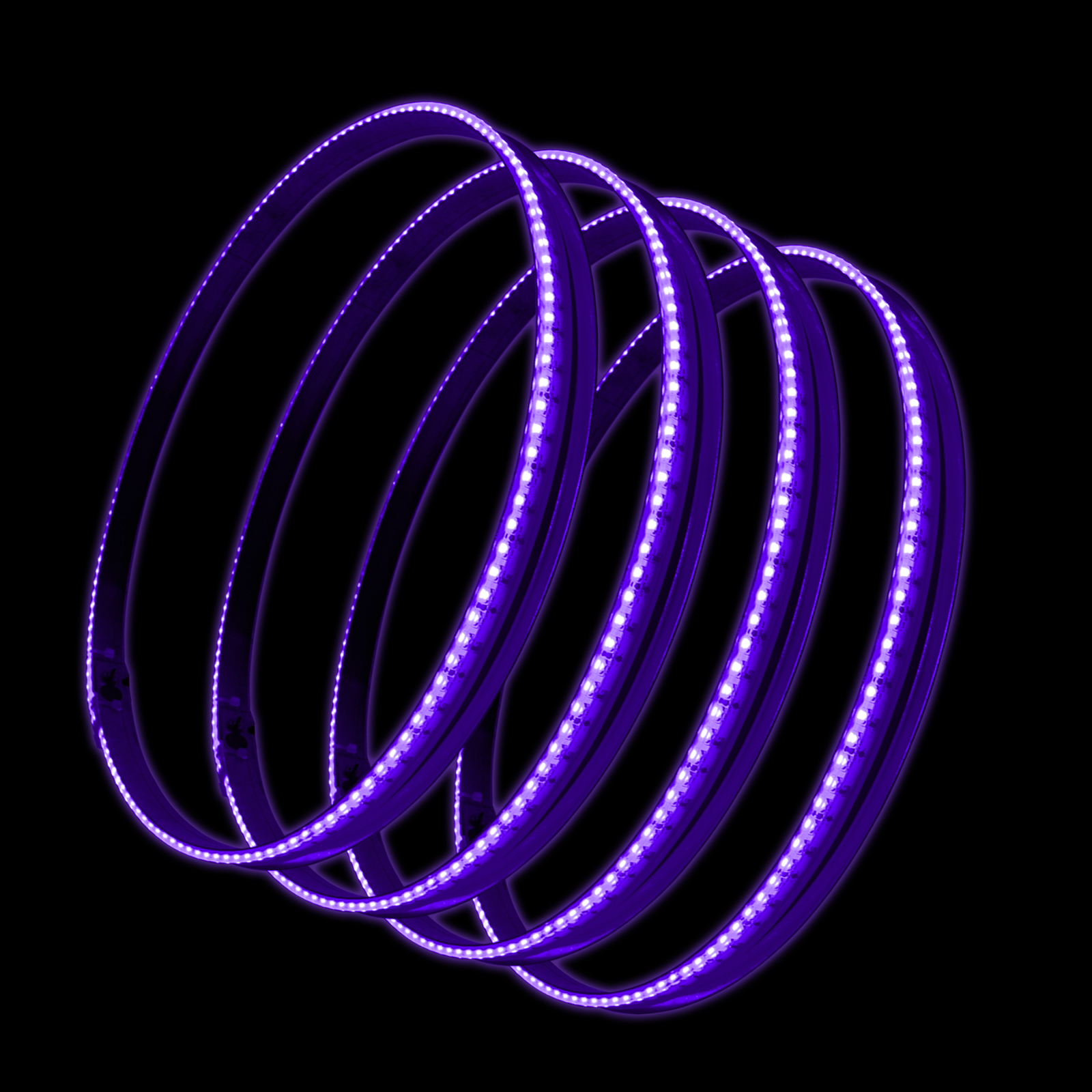 Oracle Lighting LED Illuminated Wheel Rings - UV/Purple - Oracle Lighting 4215-007