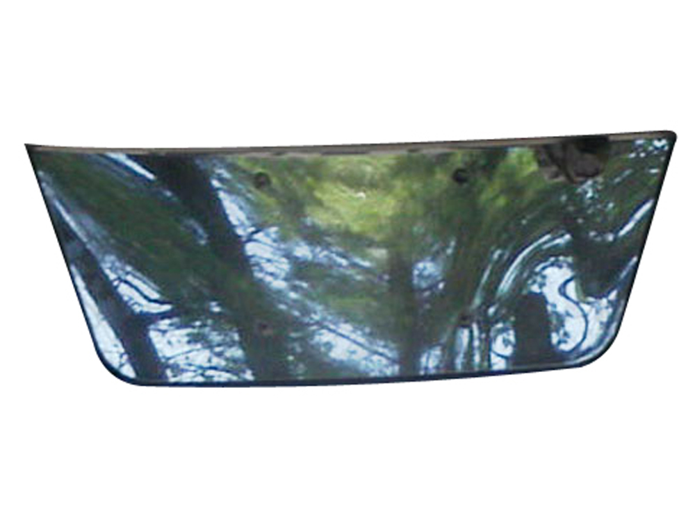 QAA Chrome License Plate Bezel - QAA LP27297