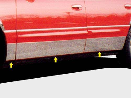 QAA Chrome Rocker Panel Trim - QAA TH37580