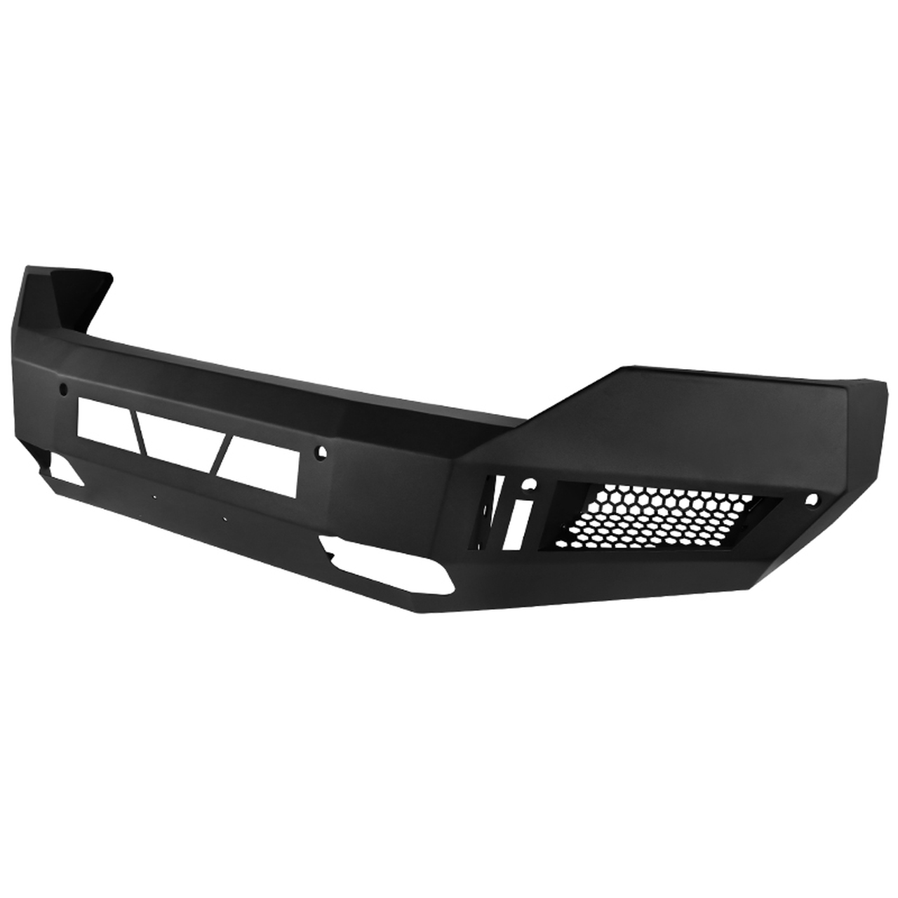 Spec-D Tuning LD1 Style Front Bumper Lip - Spec-D Tuning BBF-RAM1315BK-A-WB