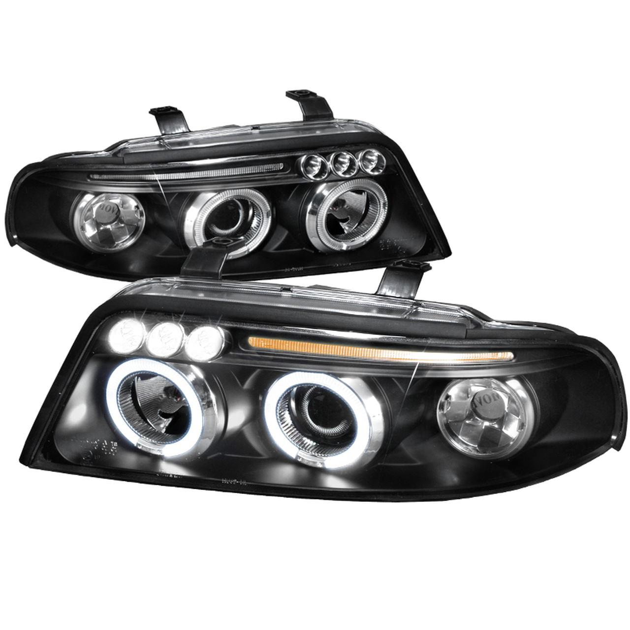 Spec-D Tuning Black Projector Headlights - Spec-D Tuning LHP-A400JM-TM