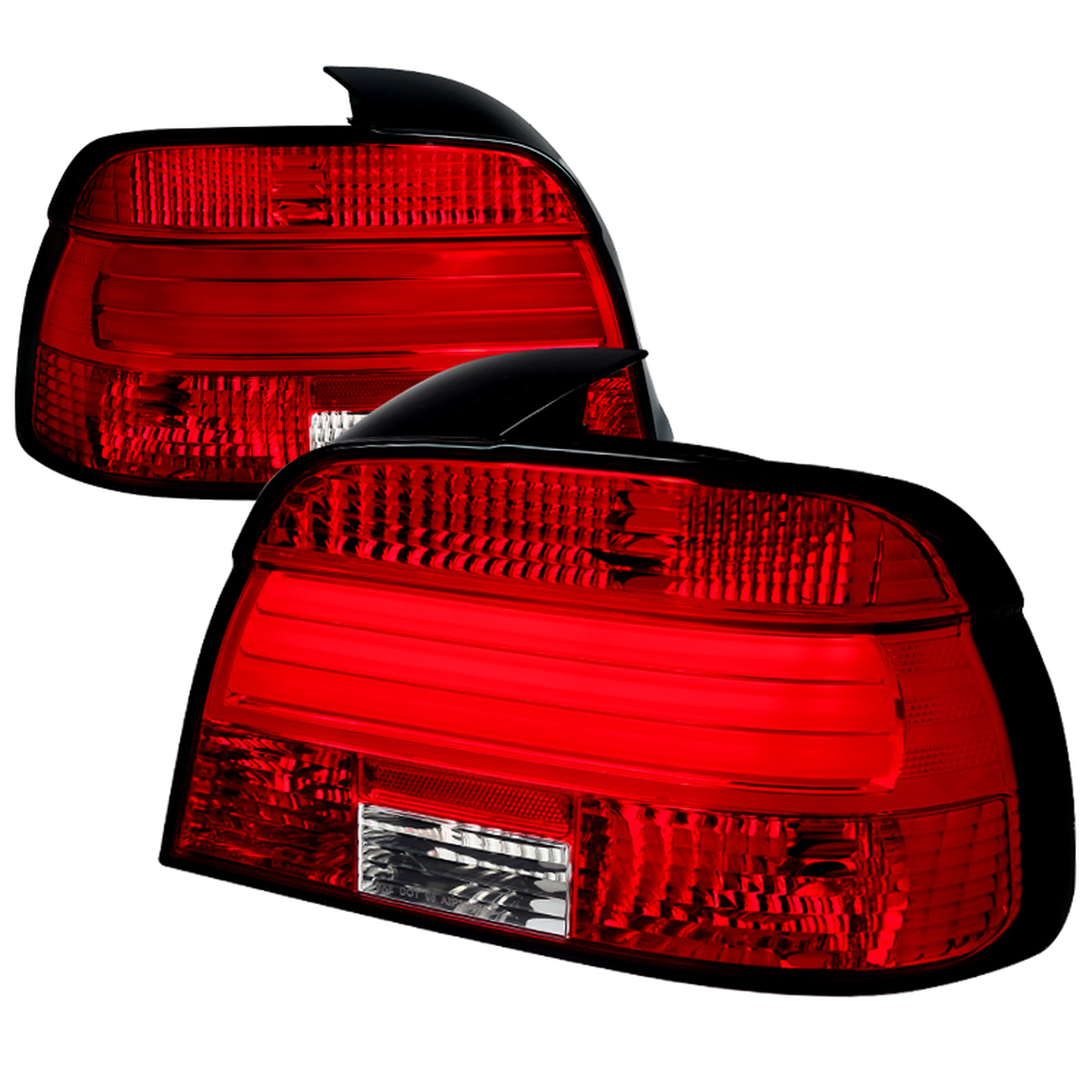 Spec-D Tuning Red LED Tail Lights - Spec-D Tuning LT-E3997RLED-TM