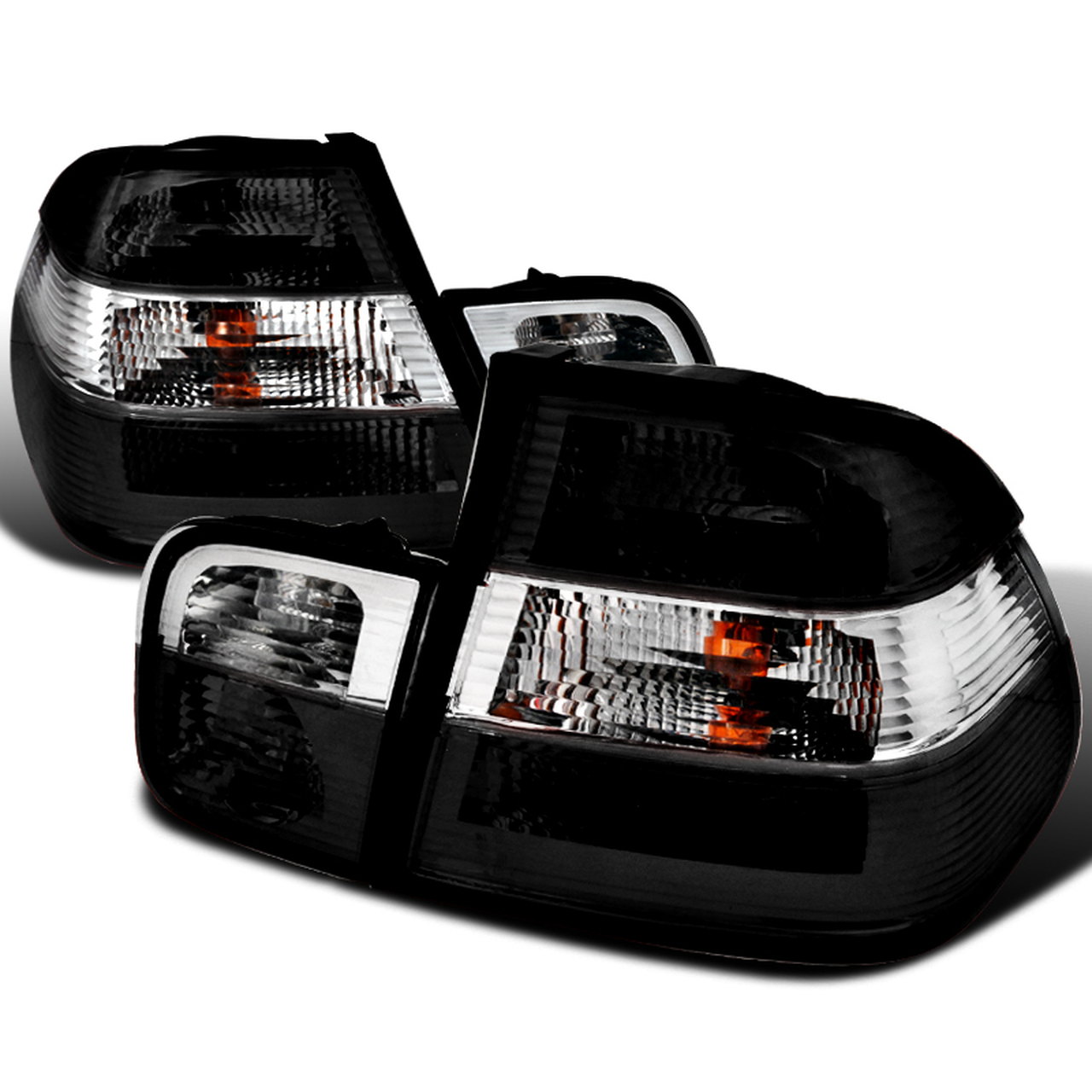 Spec-D Tuning Smoke/Clear Altezza Tail Lights - Spec-D Tuning LT-E464GPW-APC