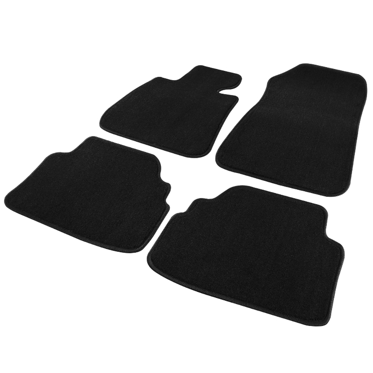 Spec-D Tuning Black Floor Mats - Spec-D Tuning SD-TRA-923