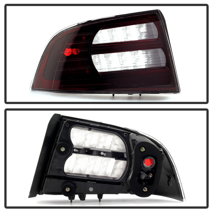 Spyder Red/Smoke OEM Tail Light - Spyder ALT-JH-ATL07-OE-RSM