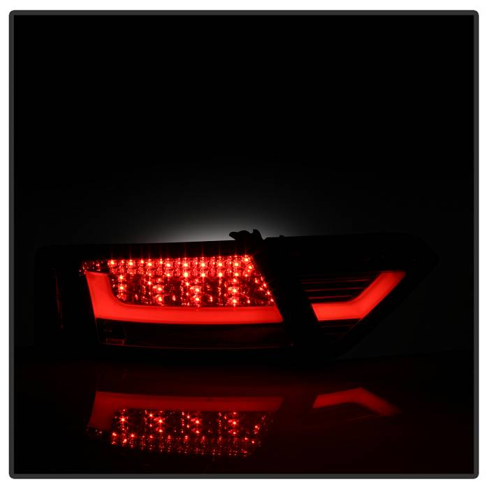 Spyder Smoke LED Tail Lights - Spyder ALT-YD-AA508V2-LED-SM