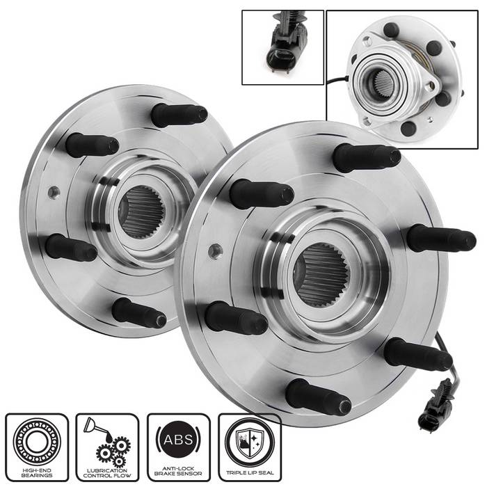 Spyder Front Wheel Bearing or Hub Assembly - Spyder BH-515096-96