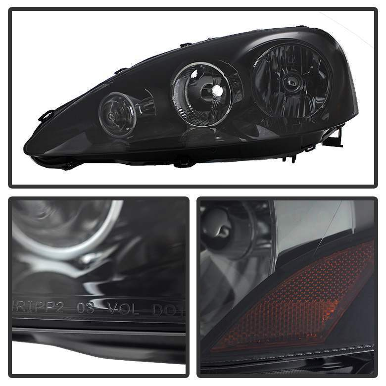 Spyder Smoke OE Style Headlights - Spyder HD-JH-ARSX05-AM-BSM