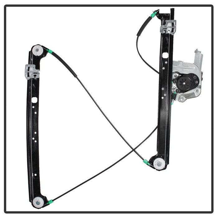 Spyder Front Left Power Window Regulator Without Motor - Spyder WR-BM-741-488