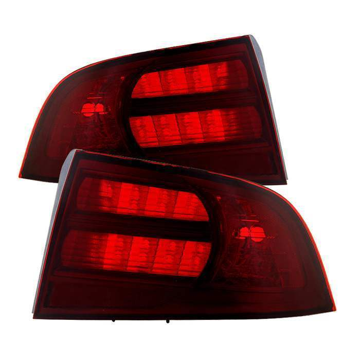 Spyder Red Smoke OE Tail Lights - Spyder ALT-JH-ATL04-OE-RSM