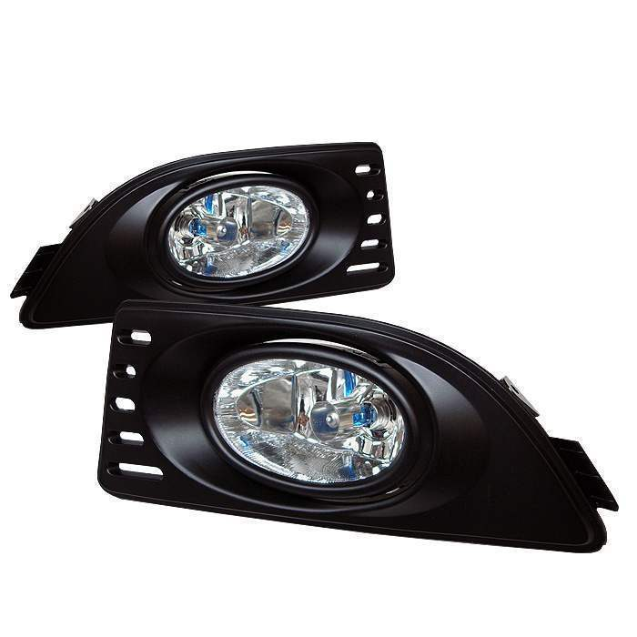 Spyder Clear OE Fog Lights with Switch - Spyder FL-AR06-C