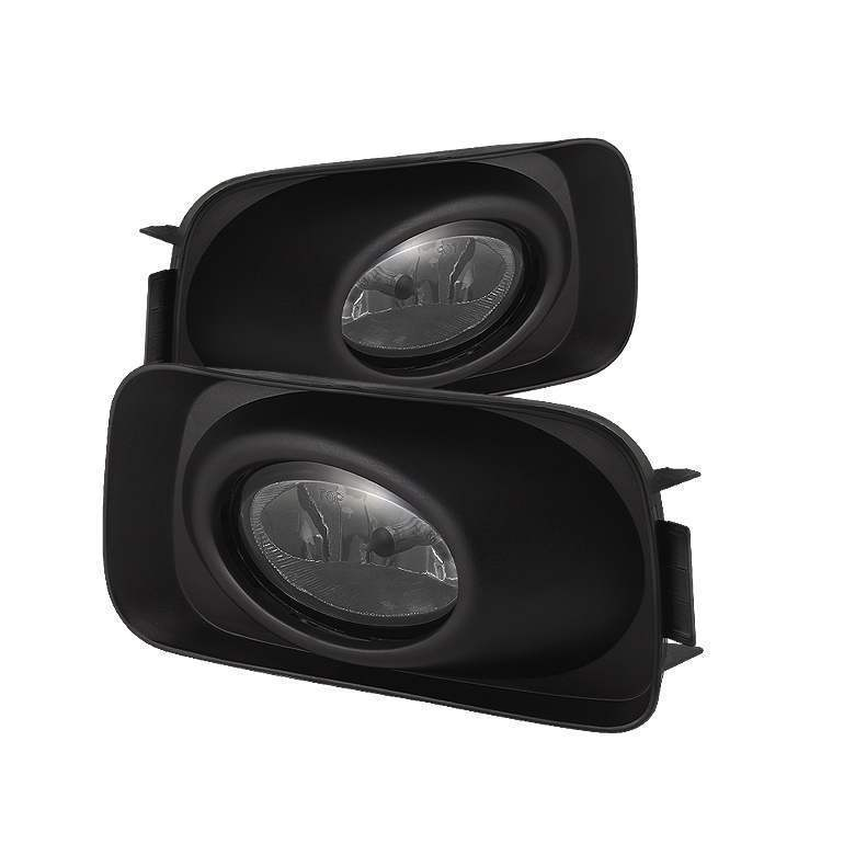 Spyder Smoke OE Fog Lights with Switch - Spyder FL-ATSX03-SM
