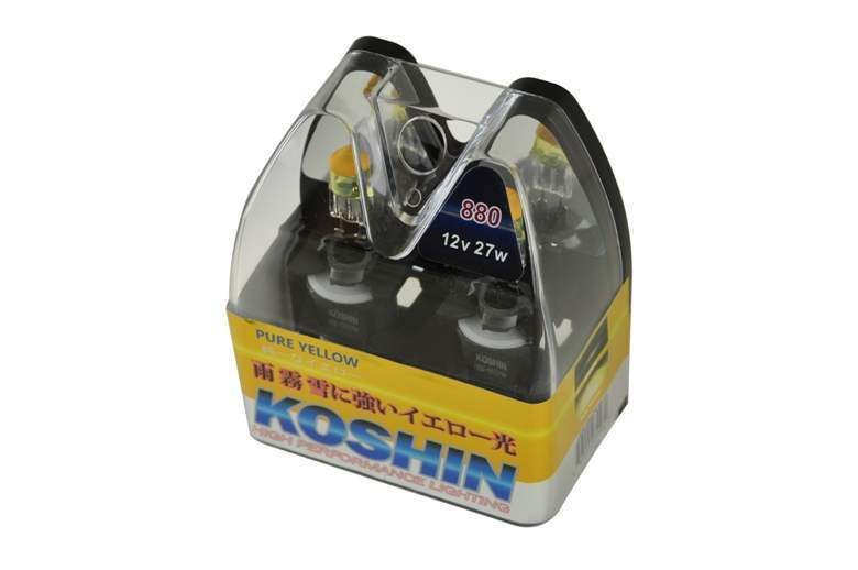 Spyder 880 Hyper Yellow Koshin Halogen Light Bulbs - Spyder LB-KO-YELLOW-880YE