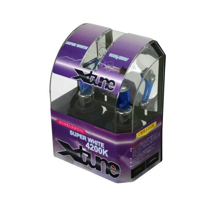 Spyder 9006 Super White Xtune Halogen Light Bulbs - Spyder LB-XT-9006