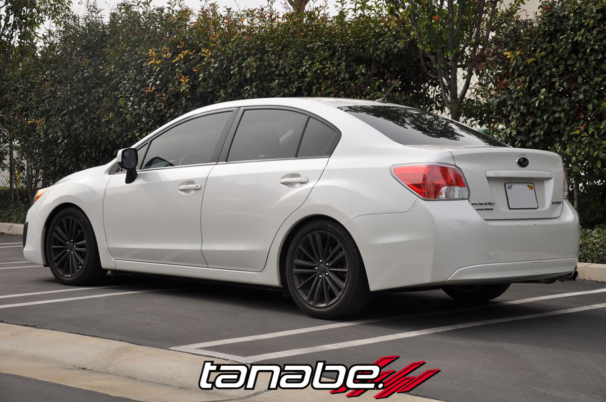 Tanabe NF210 Performance Lowering Springs - Tanabe TNF184