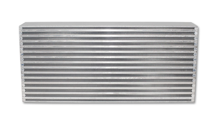 Vibrant Performance Air-to-Air Intercooler Core Only (core size: 22in W x 9in H x 3.25in thick) - Vibrant Performance 12831