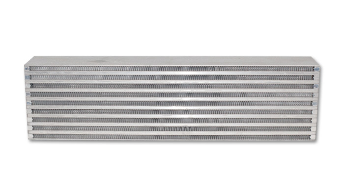 Vibrant Performance Air-to-Air Intercooler Core Only (core size: 22in W x 5.9in H x 3.5in thick) - Vibrant Performance 12836