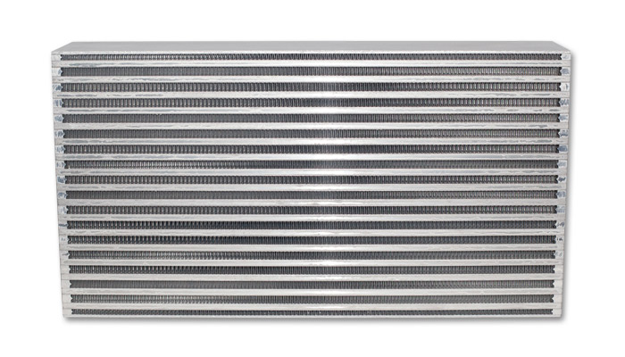 Vibrant Performance Air-to-Air Intercooler Core Only (core size: 22in W x 11.8in H x 4.5in thick) - Vibrant Performance 12838