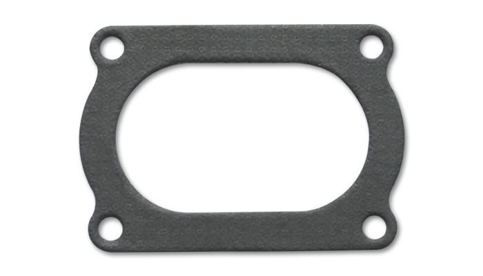 Vibrant Performance 4 Bolt Flange Gasket for 3.5in O.D. Oval tubing (Matches #13176S) - Vibrant Performance 13176G