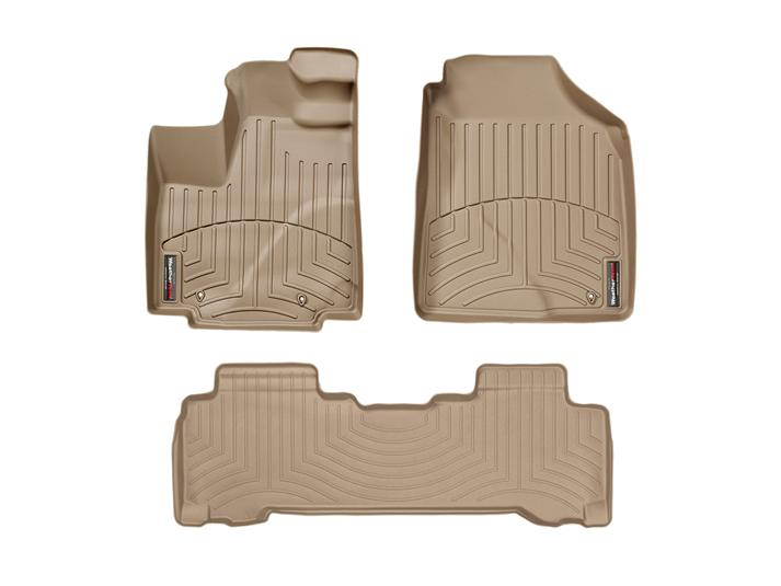 WeatherTech DigitalFit Floor Liners - WeatherTech 450411-450222
