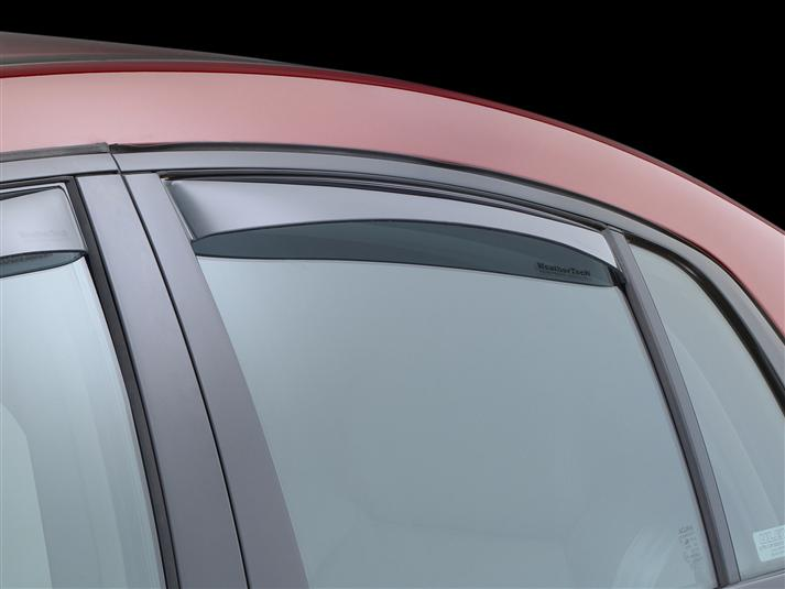 WeatherTech Light Side Window Deflectors - WeatherTech 71350